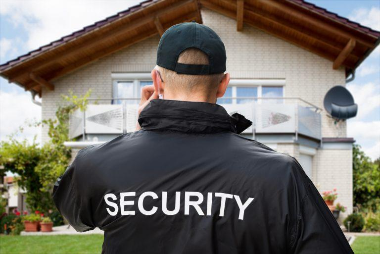 security mans jacket